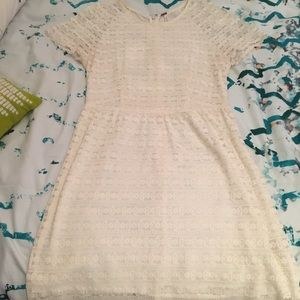 Free People off white lace dress size 2